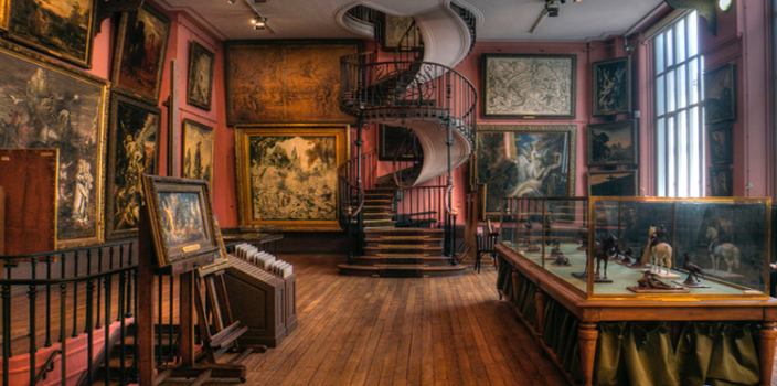 THE GUSTAVE MOREAU MUSEUM