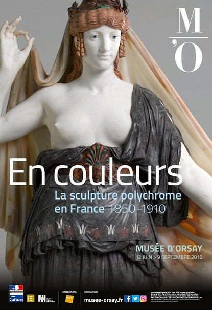 In colour, polychrome sculpture in France 1850-1910