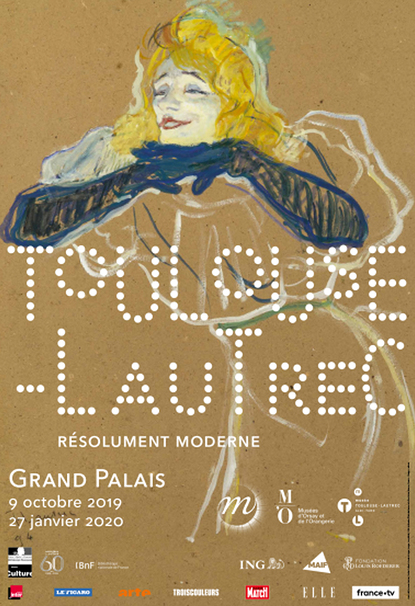 Toulouse-Lautrec, Resolutely Modern