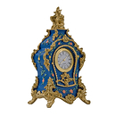 Blue Carel Clock