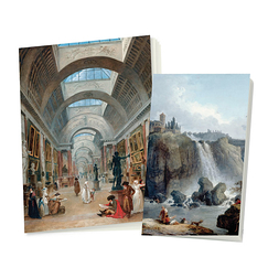 2 Notebooks Hubert Robert