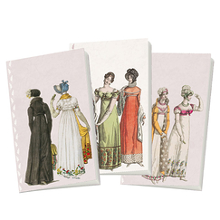 "3 Carnets ""Costumes Empire"""