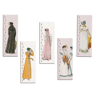 """Fashion under the Empire"" Magnets"