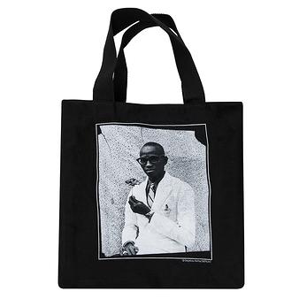 Sac cabas noir Seydou Keïta - Homme