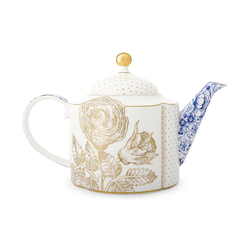 Tea pot Royal White