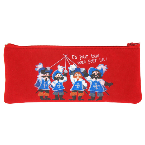 Pencil pouch Musketteers