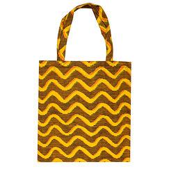Yellow Tote bag Wax