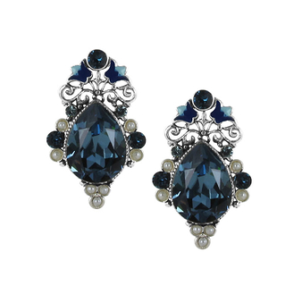 """Eternelle"" Earrings - Clip"