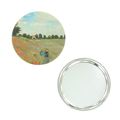 "Monet ""Poppies"" purse mirror"