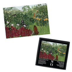 Wooden Jigsaw Puzzle - Forêt tropicale (40 p.)