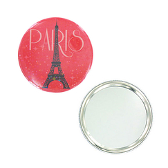 Round Mirror Paris Stars