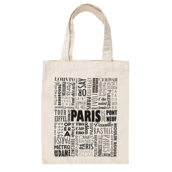 Paris Typo Bag