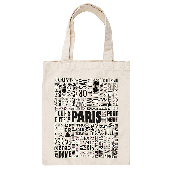 Sac Paris Typo