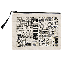Trousse Paris Typo