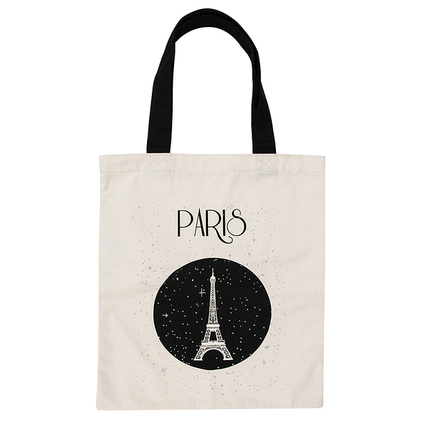Paris Stars tote bag
