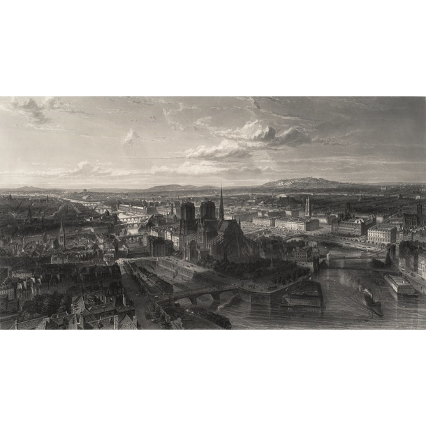 Paris in 1860 - Edouard Willmann