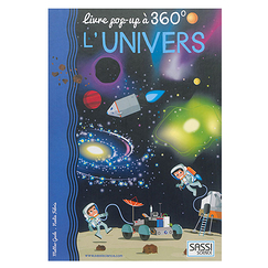 L'univers - Livre pop-up à 360°