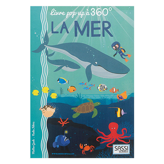 La mer - Livre pop-up à 360°