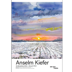Exhibition poster Anselm Kiefer