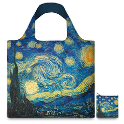 Van Gogh Shopping Bag The Starry Night - Loqi