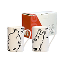 Tintin and Snowy mugs