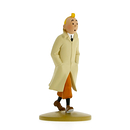 Tintin wearing his coat