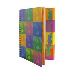 Monna Pop Spiral notebook