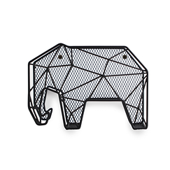 Letter Organizer Elephant with Key Holder