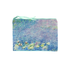 """Water Lilies"" Pouch"