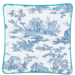 Cushion cover Toile de Jouy