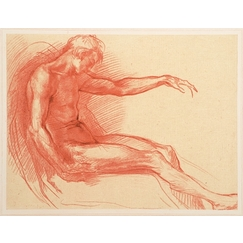 Study of man figure - Andrea del Sarto