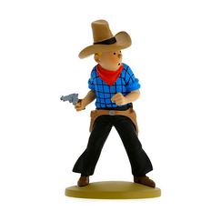 Tintin en cow-boy