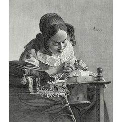 The Lacemaker - Vermeer