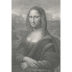 Portrait of Monna Lisa - Leonardo da Vinci