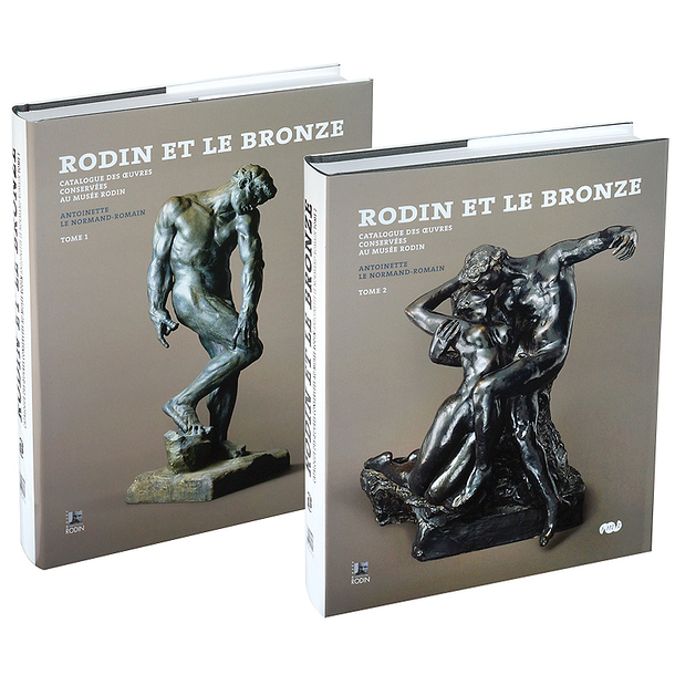 The bronzes of Rodin - Catalogue of works in the musée Rodin Vol.1 and Vol.2