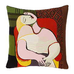 "Cushion cover Picasso ""The Dream"""