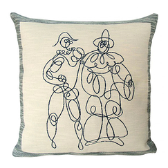 Picasso Cushion cover Arlequin and Pierrot