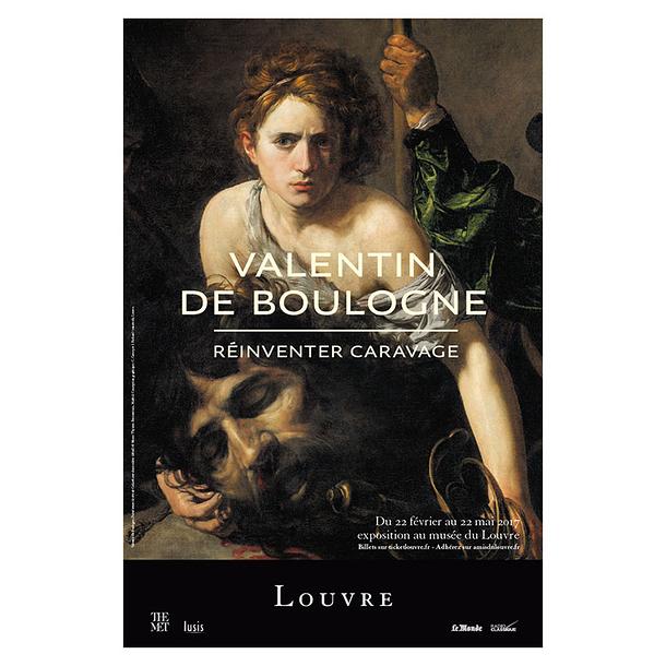 Affiche De Lu0027exposition Valentin De Boulogne