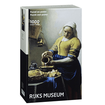 "1000 pieces Puzzle ""The Milkmaid"""