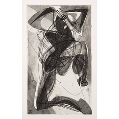 Kneeling character - Stanley William Hayter