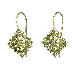Dharmachakra Earrings