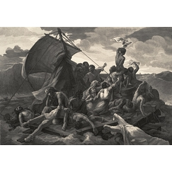 The raft of the Medusa - Géricault