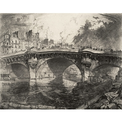 The Pont-Neuf, view of the Canal de la Monnaie
