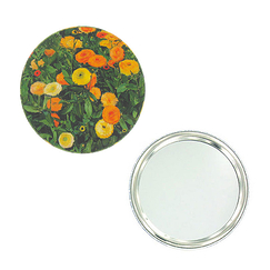"""Marigolds"" pocket mirror"