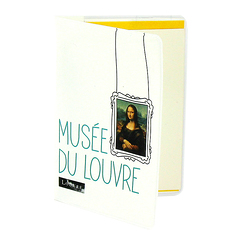 "Monna Lisa ""Cimaise"" card holder"