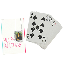 "Monna Lisa ""Cimaise"" playing cards"