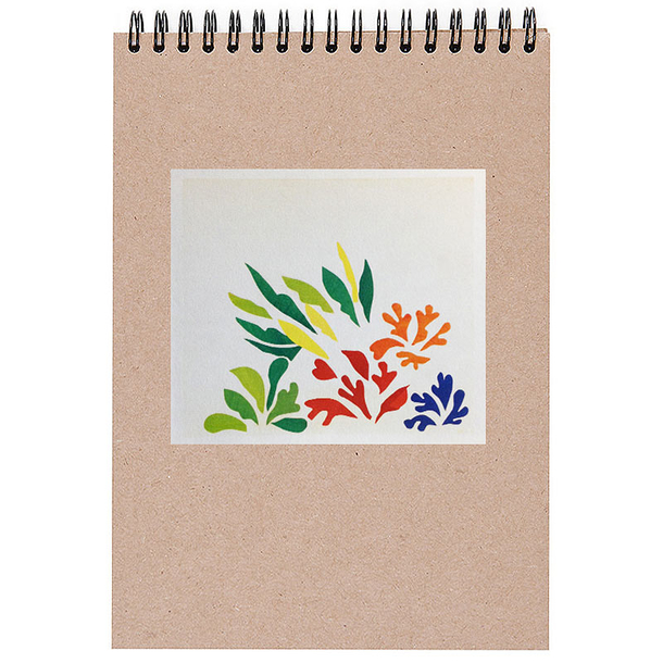 "Sketch pad Matisse ""Acanthes"""