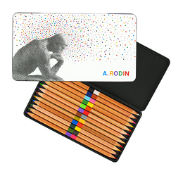 Rodin 12 Colouring pencils