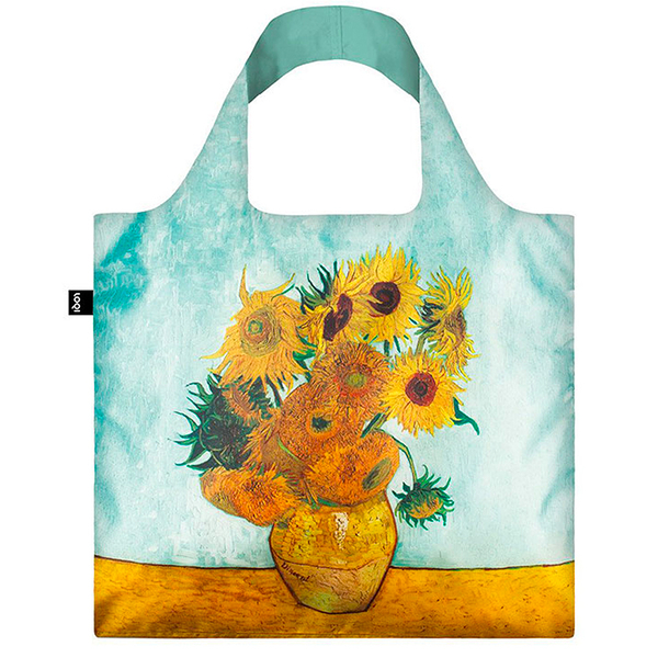 ca7ea7810e Van Gogh Shopping Bag - Vase with Sunflowers