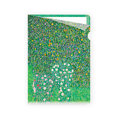 Rosebushes under the trees Klimt Clear file - A5